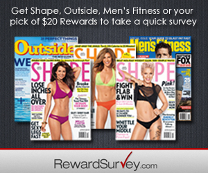 Another Reward Survey, Another FREE Magazine Subscription!