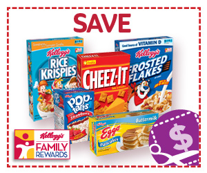 Kelloggs Rewards Points