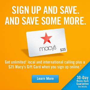 Vonage Gift Card Deal