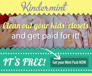 Kindermint | Get Paid to Clean out Your Kids Closet!