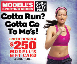 Modell's Giveaway: Win a $250 Gift Card