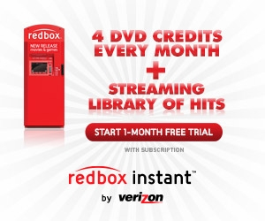 Redbox – 4 FREE Movie Rental Codes!