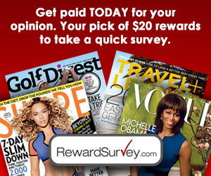 Get a FREE Magazine Subscription For Taking a Quick Breakfast Survey!