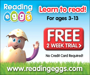 Reading Eggs Free Trial (no cc required)