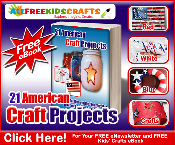 Kids Crafts Patriotic 4th of July FREE eBook