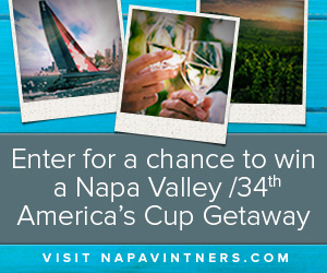 Enter to Win a Trip to Napa Valley