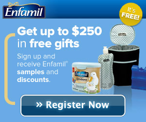 7506 Enfamil Bnr 300x250 Enfamil Family Beginnings: Get $250 In Savings and Gifts!