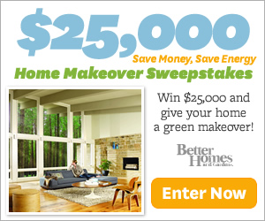 Better Homes Gardens 25 000 Home Makeover Sweepstakes
