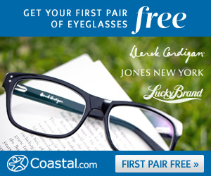 Coastal FREE Glasses Offer Ends July 31st!