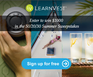 Learnvest Summer Sweepstakes banner