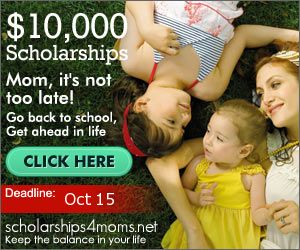 Scholarships for Moms