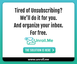 8733 03f4ebe9 bfa1 46c7 af58 8a23f6cd1d9d Sign Up for Unroll.me ~ Control Your Inbox Clutter