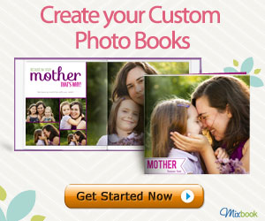 9604 300x250 Photo Books 50% off + Free Shipping at Mixbook! Only $3.50 Total  Last Day