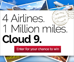 Enter to win 100,000 Airline miles! !!