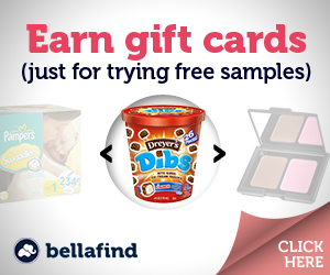 free samples and earn gift cards